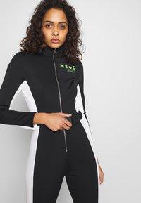 Missguided - SKI SNOW FITTED - Tuta jumpsuit - black - 3