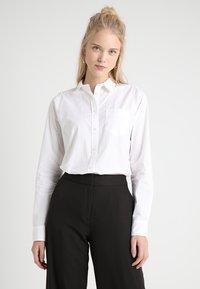 J.CREW TALL - BOY SHIRT WHITE - Bluse - white - 0
