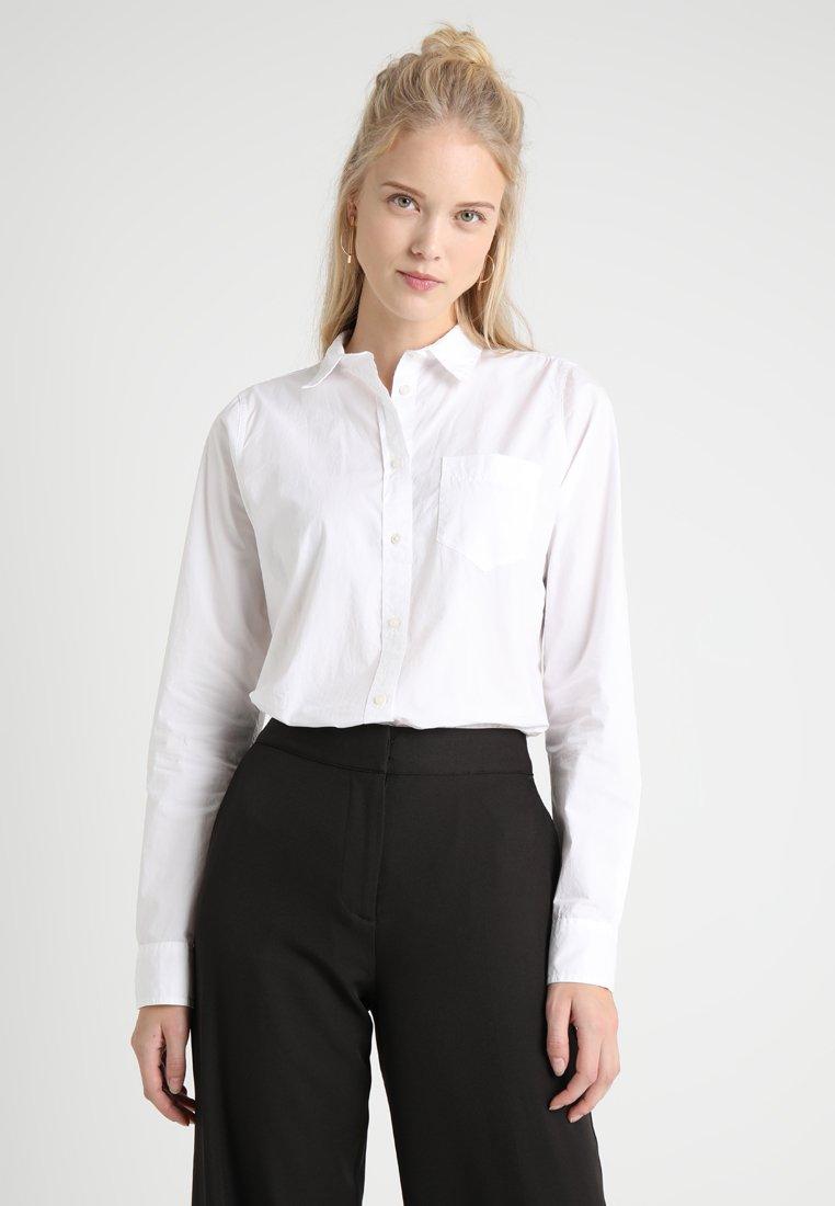 J.CREW TALL - BOY SHIRT WHITE - Bluse - white
