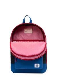 Herschel - School bag - black reflective/lapis blue reflective/red light - 3