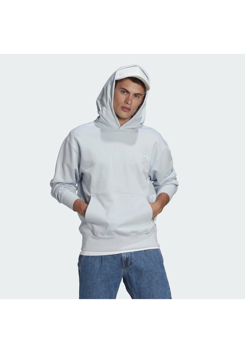 adidas Originals - PREMIUM HOODY UNISEX - Sweatshirt - halo blue