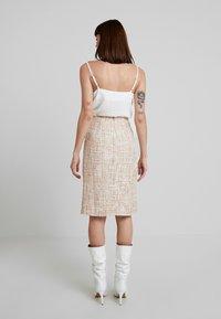 Foxiedox - QUINCY SKIRT - Pencil skirt - blush/multi - 2