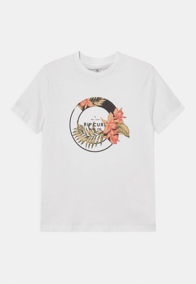 FILIGREE UNISEX - T-shirt print - white