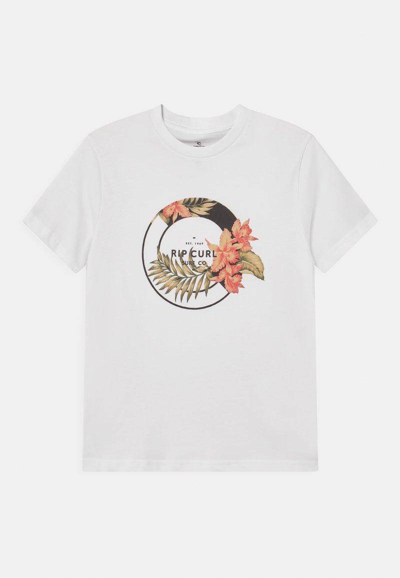 Rip Curl - FILIGREE UNISEX - Print T-shirt - white