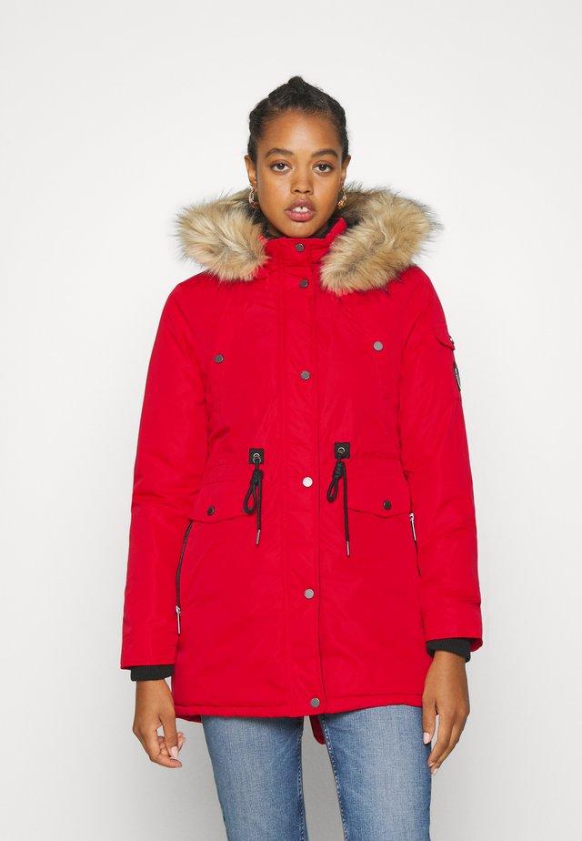 NADARE - Winter coat - burnt red