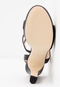 Anna Field - LEATHER HIGH HEELED SANDALS - Højhælede sandaletter / Højhælede sandaler - black - 6