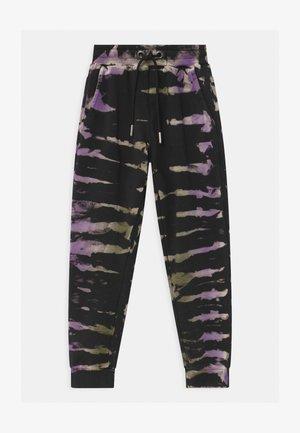 GIRLS  - Pantalones deportivos - lila/black