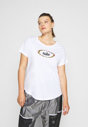 TEE FEMME PLUS - T-shirt con stampa - white