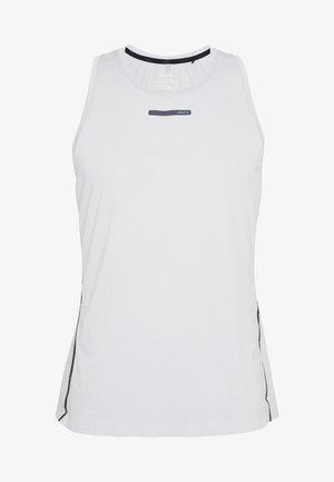 VENT SINGLET - Sports shirt - ash/fiesta
