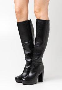Steven New York - JAMILA - High heeled boots - black - 0
