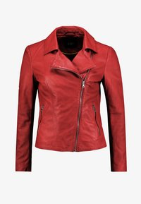 Ibana - WAVES - Leather jacket - red - 3