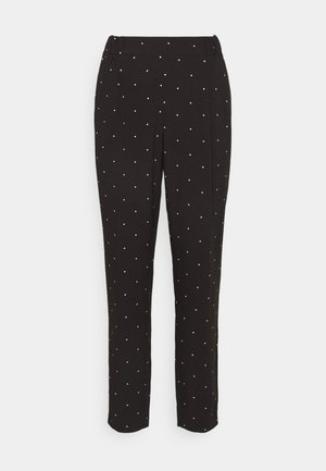 VMMORGAN PANT - Trousers - black/white