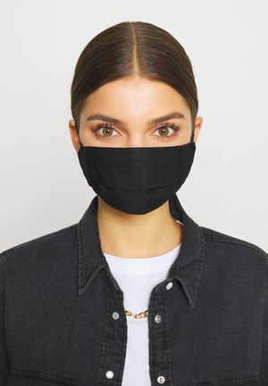 3 PACK - Stoffmaske - black