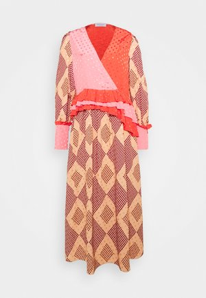 PRINT - Maxi dress - rose cloud