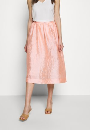 PHINE - A-line skjørt - candy coral
