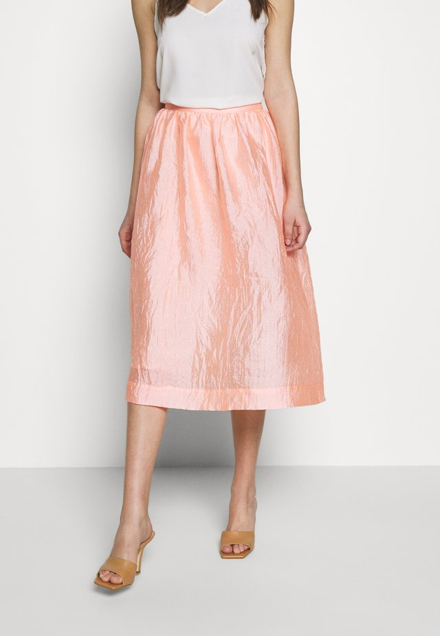 PHINE - A-lijn rok - candy coral