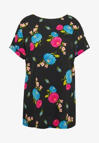 Simply Be - BUTTON DETAIL BOXY  - Bluser - multicolor - 4