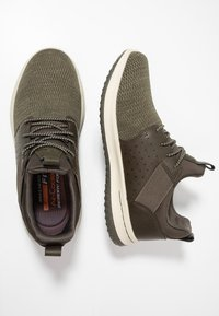 Skechers - DELSON - Loafers - olive - 1