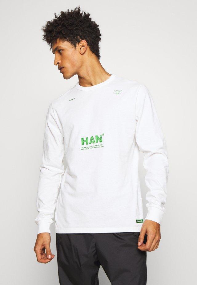 ARTWORK - Maglietta a manica lunga - off white