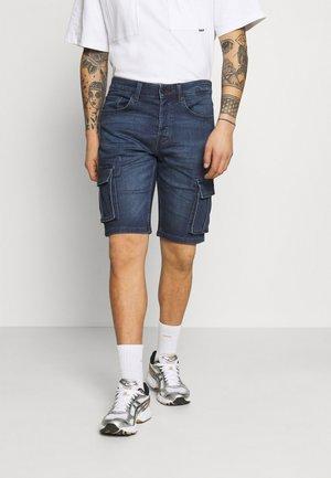 ONSAVI LIFE  - Denim shorts - blue denim