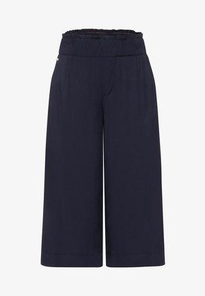 LOOSE FIT MIT WIDE LEGS - Shorts - blau