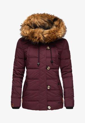 ZOJA - Winter jacket - burgundy
