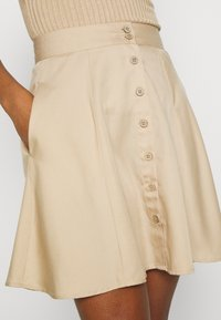 Pieces - PCMARYLEE SKIRT - A-line skirt - warm sand - 4
