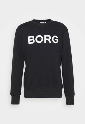 LOGO CREW - Sweatshirt - black beauty