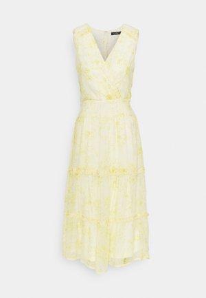 GEORGETTE DRESS - Day dress - col cream/beach