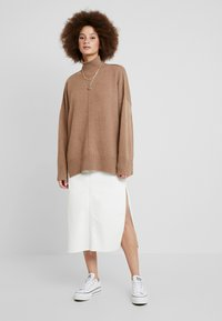 French Connection - RIVER JUMPER - Jumper - classic camel - 1