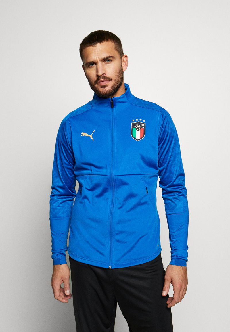 Puma - ITALIEN FIGC STADIUM HOME JACKET - Fanartikel - team power blue/team gold