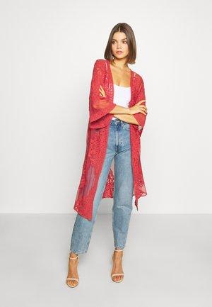 LISA KIMONO - Summer jacket - rust