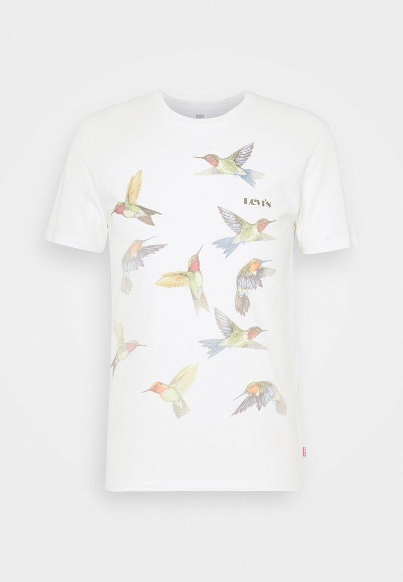 Levi's® - GRAPHIC CREWNECK TEE - T-shirt imprimé - off-white