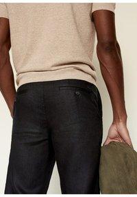 Mango - Trousers - schwarz - 5