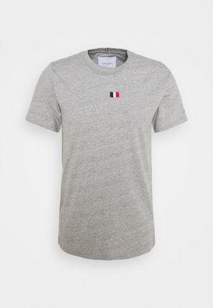 FLAG - T-shirts - grey melange