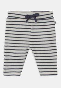 Staccato - SET UNISEX - Leggings - Trousers - dark blue/off-white - 2
