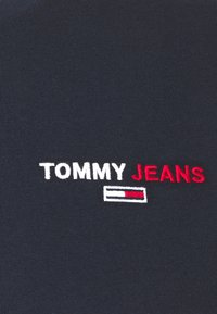 Tommy Jeans - CHEST CORP TEE UNISEX - Printtipaita - twilight navy - 5