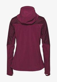 Salomon - OUTSPEED INSULATED - Outdoor jacket - winetasting - 1
