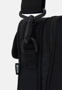 MSGM - CAMERA BAG LOGO UNISEX - Across body bag - black - 3