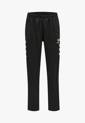 HMLCORE VOLLEY POLY - Tracksuit bottoms - black