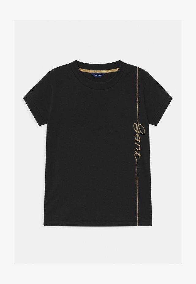 SCRIPT - Camiseta estampada - evening blue