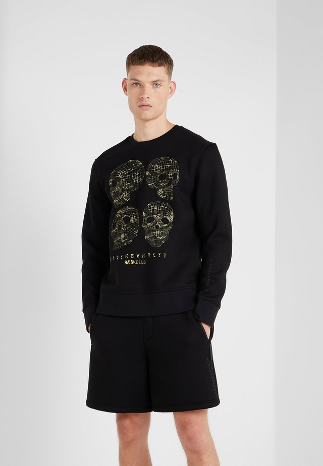 COMO SKULL - Sweater - black/camo