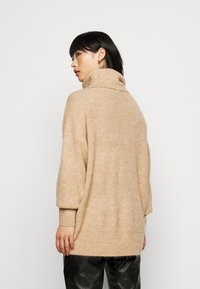New Look Petite - FASH SLOUCHY ROLL NECK - Jumper - camel - 2