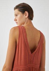 PULL&BEAR - Maxi dress - light brown - 2
