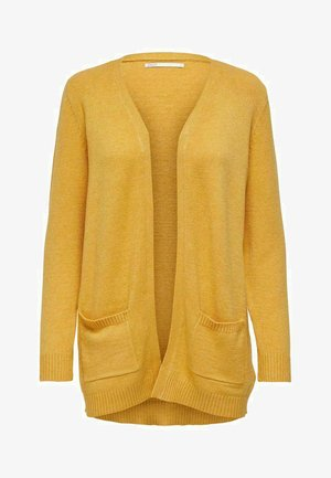 ONLLESLY L/S  NOOS - Cardigan - golden yellow