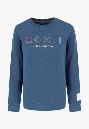B-ANDY JUNIOR - Sweater - denim mel