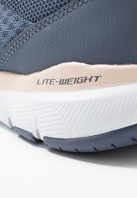 Skechers Sport - FLEX APPEAL 3.0 - Sneakers laag - slate/light pink - 2