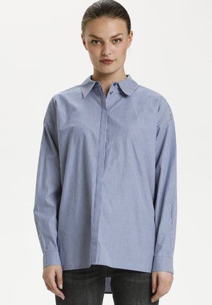 Skjortebluser - medium blue striped