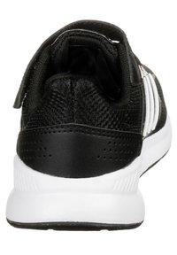 adidas Performance - RUNFALCON UNISEX - Neutral running shoes - core black / footwear white - 3