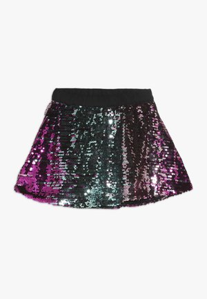 GIRL SEQUIN SKIRT - Minifalda - pink